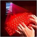 Hologram 3D Keyboard Prank icon