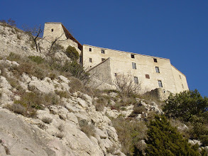 Photo: The citadel was constructed between 1693 and 1705 on the ruins of the ancient fort of Glandevès. It was Vauban (commissioned by Louis XIV) who devised the complex defensive system, from the Petit Châtelet half-way up the slope to the Commander's House at the summit of the outcrop.