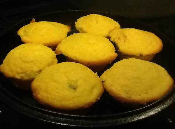 Green Chili Corn Muffins Recipe