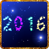 New Years live wallpaper 2016