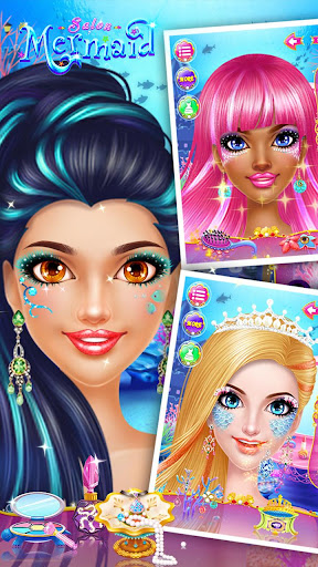 🧜♀️👸Mermaid Makeup Salon screenshot 22