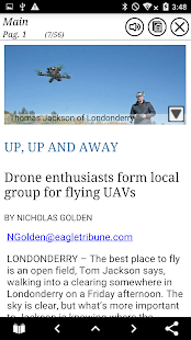 Eagle-Tribune North Andover MA- screenshot thumbnail