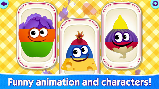 Funny Food educational games for kids toddlers screenshots 3