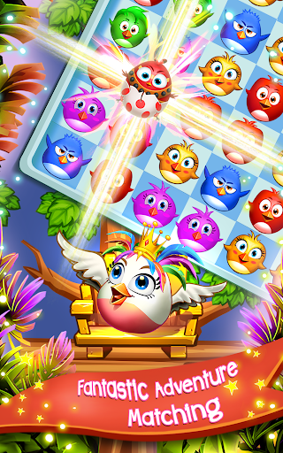 Birds Pop Mania: Match 3 Games Free android2mod screenshots 17