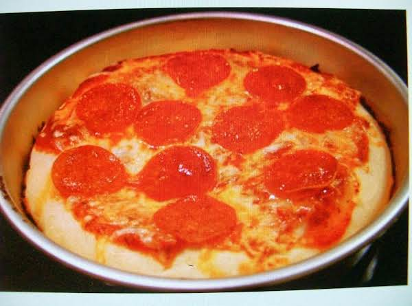 Deep Dish Pizza By Freda Recipe