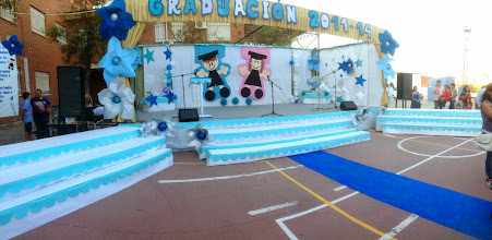 Photo: Escenario graduacion 2011/14