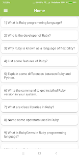 Download Ruby Interview Question APK latest version App for PC