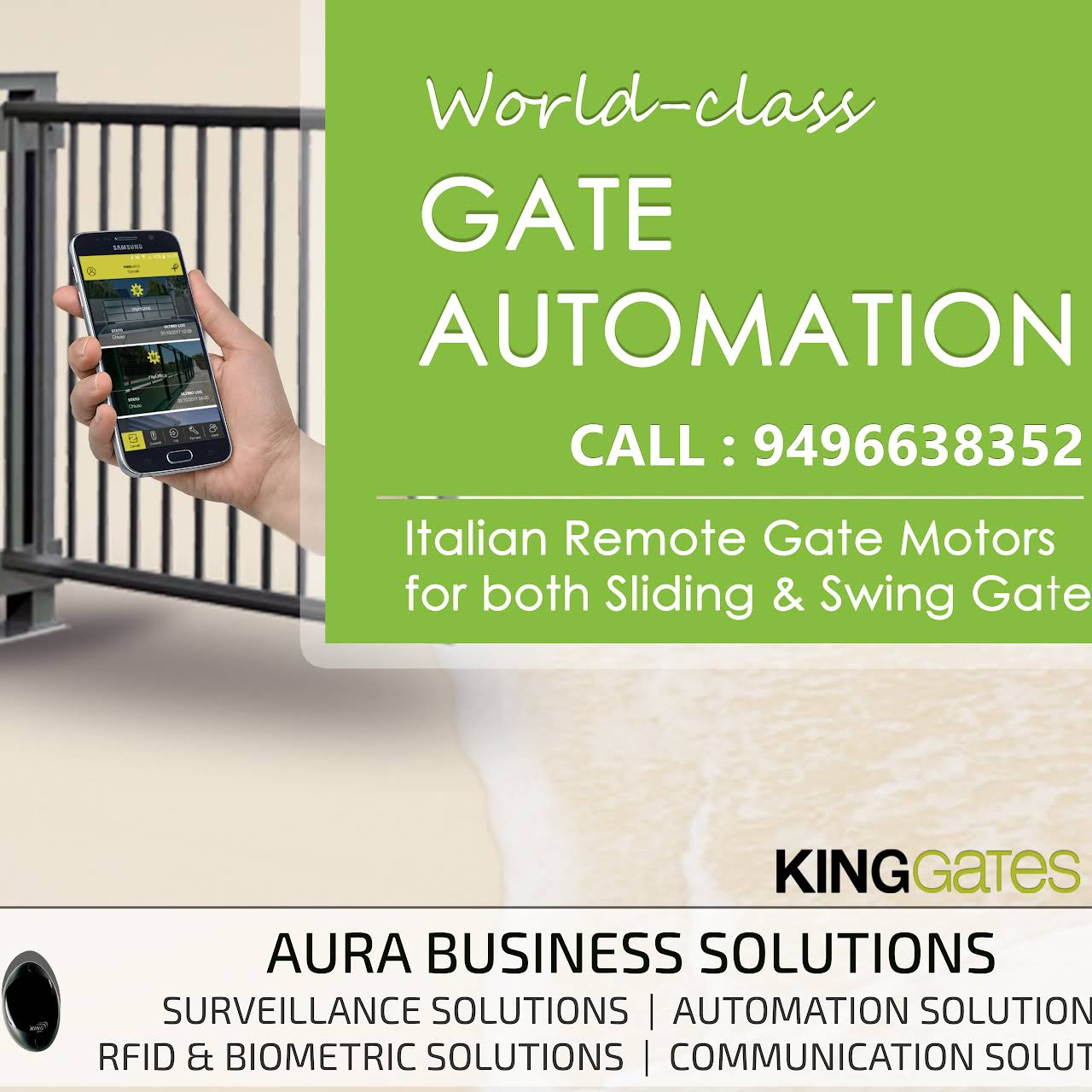 Aura Business Solutions - CCTV, Security Systems Dealer in