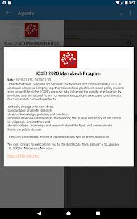 ICSEI 2020 Marrakesh Program for PC-Windows 7,8,10 and Mac apk screenshot 4