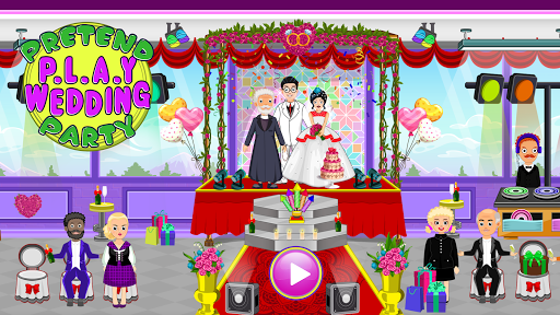 Pretend Town Wedding Party android2mod screenshots 6