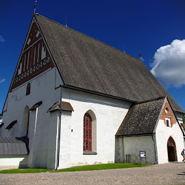 Porvoo church by Simo Järvinen - Buildings & Architecture Places of Worship ( building, church, christianity, outdoor, porvoo, finland, architecture, religious )