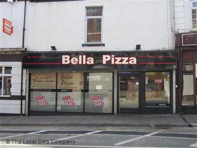 Bella Pizza On Carlton Street Fast Food Takeaway In