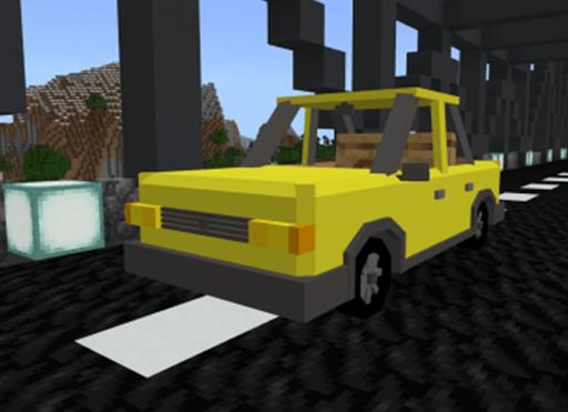 Cars Addon for MCPE Mod screenshot 1