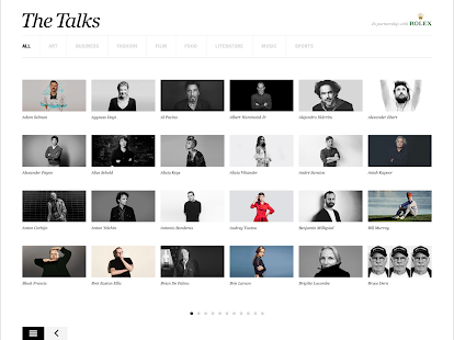 The Talks Interview Magazine- screenshot thumbnail