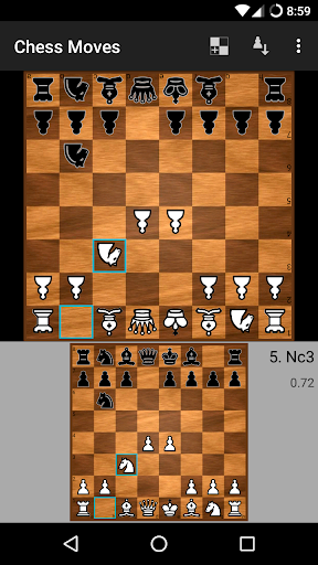 Chess Moves u265f Free chess game 2.7.3 screenshots 1