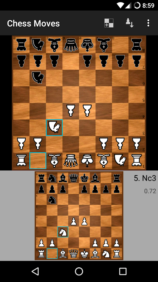 Chess Moves ♟ Free chess game- screenshot