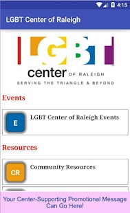LGBT Center of Raleigh- screenshot thumbnail