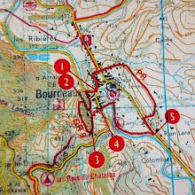 Photo: Nieuwe wandeling: dit keer rond Bourdeaux