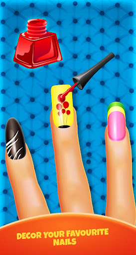 Nail Salon Fashion Game: Manicure pedicure Art Spa 1.5 screenshots 2