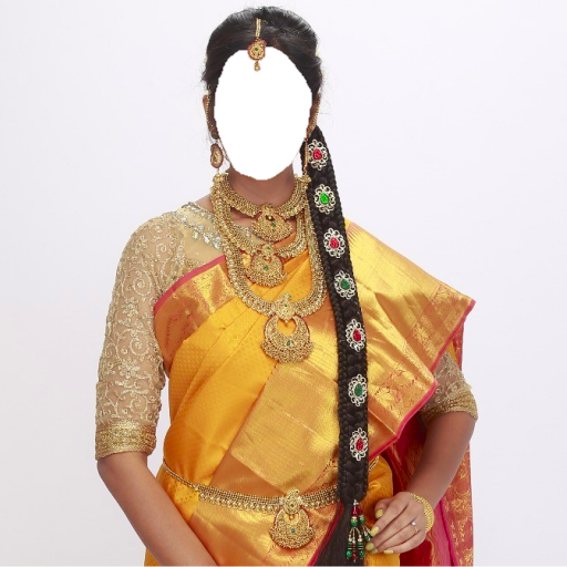 Pattu Saree Face Changer