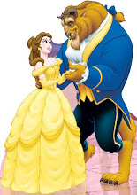 Photo: Theme Party Stand Up Prop http://www.BestPartyPlanner.net Belle and The Beast Disney.