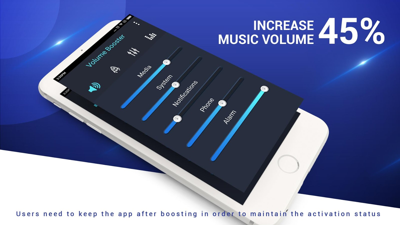 Phone Phone Volume Booster Android volume amplifier and booster android apps on google play screenshot