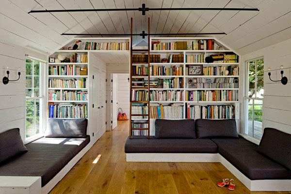 Thiết kế phòng đọc sách làm phòng ngủ