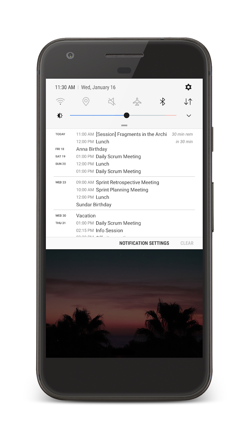 Your Calendar Widget Screenshot 5