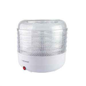 Deshidrator alimente, 125W, Esperanza Champignons, 5 tavi, Alb