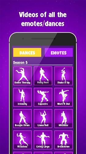 Funny Dance Emotes Season 6 For Battle Royale Android App Screenshot