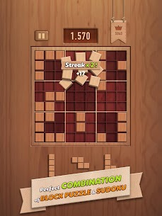 Woody 99 – Sudoku Block Puzzle – Free Mind Games App Download For Android and iPhone 7