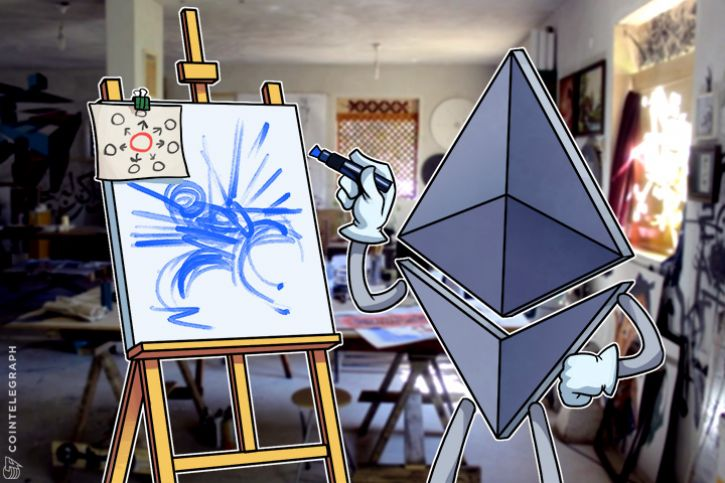 Ether drawing decentralized system