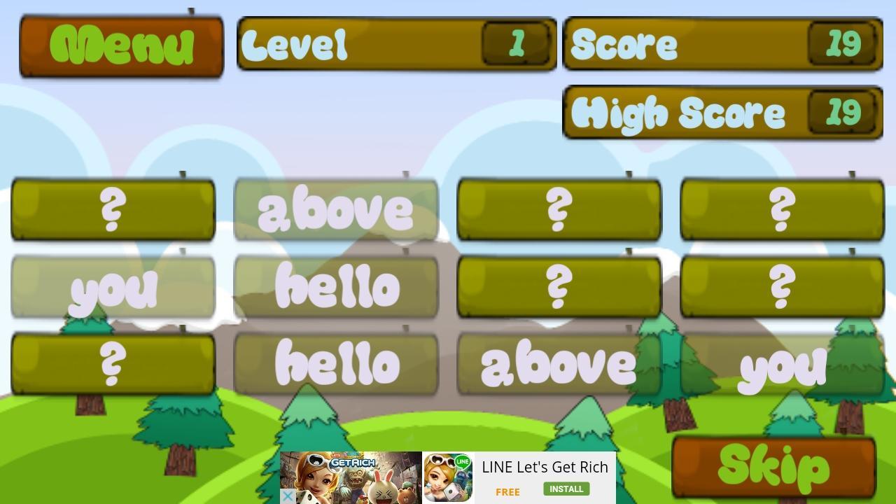 Worksheet Kindergarten Vocabulary Words kindergarten vocabulary words android apps on google play screenshot