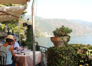 Photo: Lakeside dining par excellence.