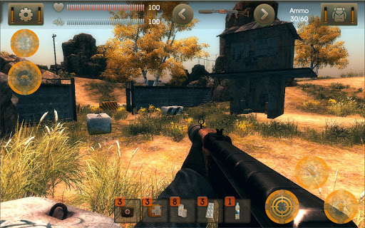 The Sun Evaluation: Post-apocalypse action shooter apkpoly screenshots 1