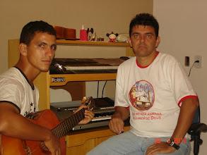 Photo: Eu e o Gil ensaiando rumo ao sucesso (rsrsrs)