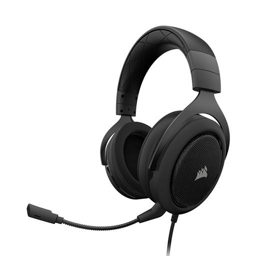 Tai nghe Corsair HS50 Stereo Carbon-1