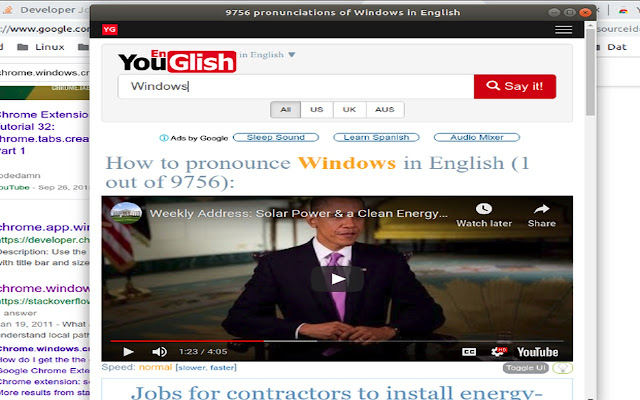 Youglish Video Search