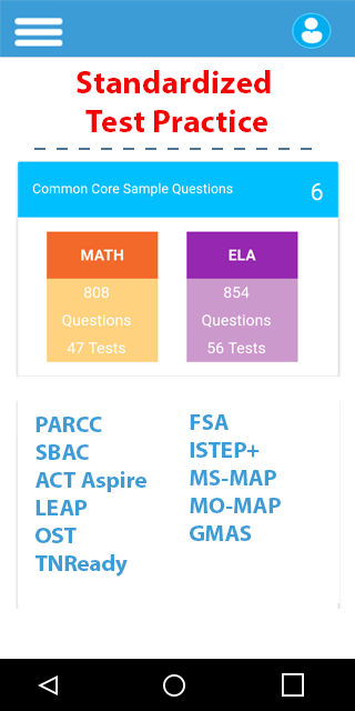Common Core Math English Tests  Android Apps on Google Play