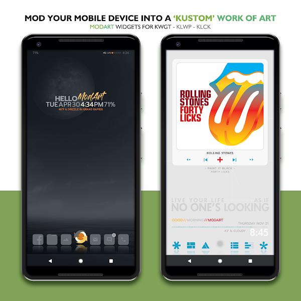Download APK: ModArt Widgets for KWGT-KLWP-KLCK v3.05 [Paid]