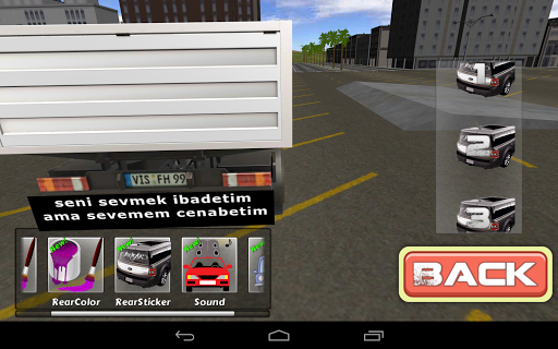 Truck Modified 3D