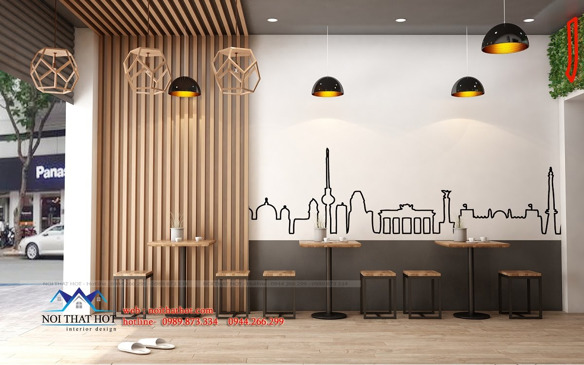 Thiết kế quán ăn nhanh đẹp