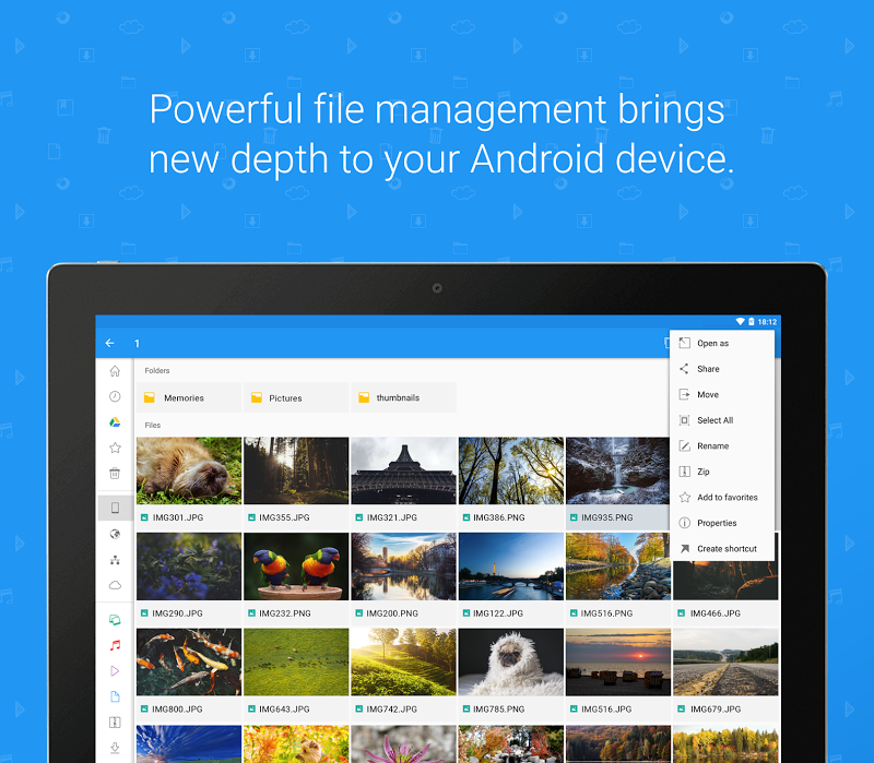File Commander - Manager, Explorer and FREE Drive Screenshot 8