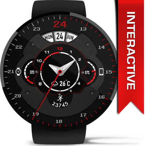 android Phroton Interactive Watch Face Screenshot 12