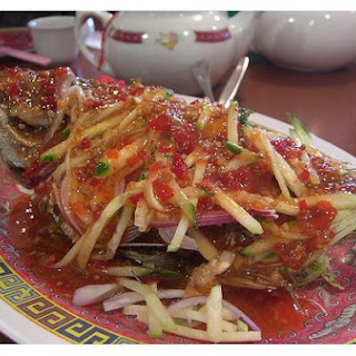 Crunchy Fried Fish.