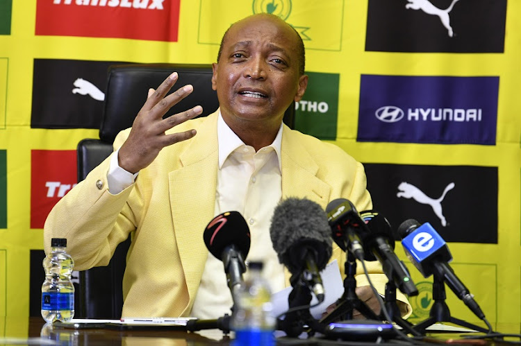 Mamelodi Sundowns president Patrice Motsepe is vying to become the president of the Confederation of African Football.