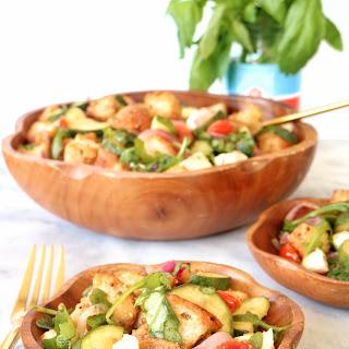Roasted Summer Vegetable Panzanella.