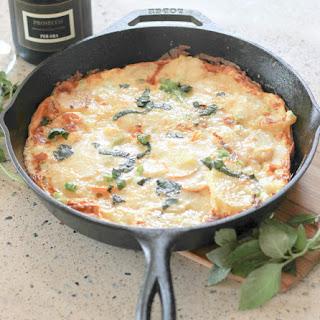 Potato Zucchini Frittata