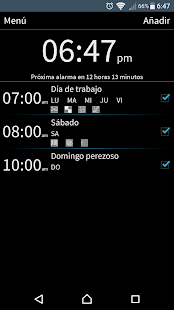 I Can't Wake Up! Despertador Screenshot