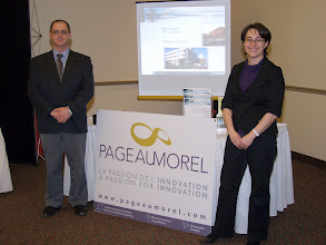 Photo: the fine booth of PageauMorel